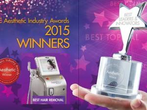 Alma Soprano Ice – Pobednik nagrade Aesthetic Industry (Aesthetic Industry Award)